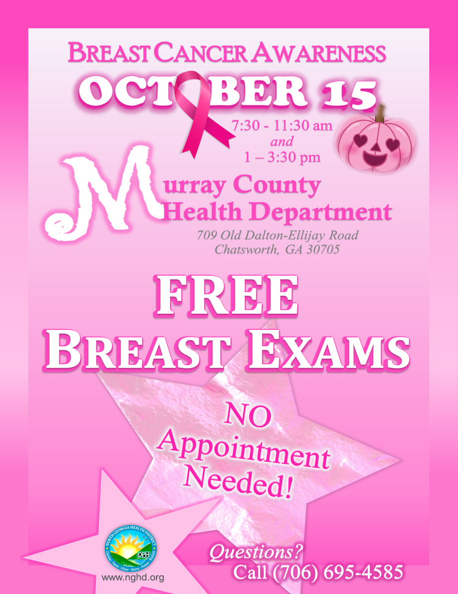 Breast Cancer Awareness Day MCHD 2020
