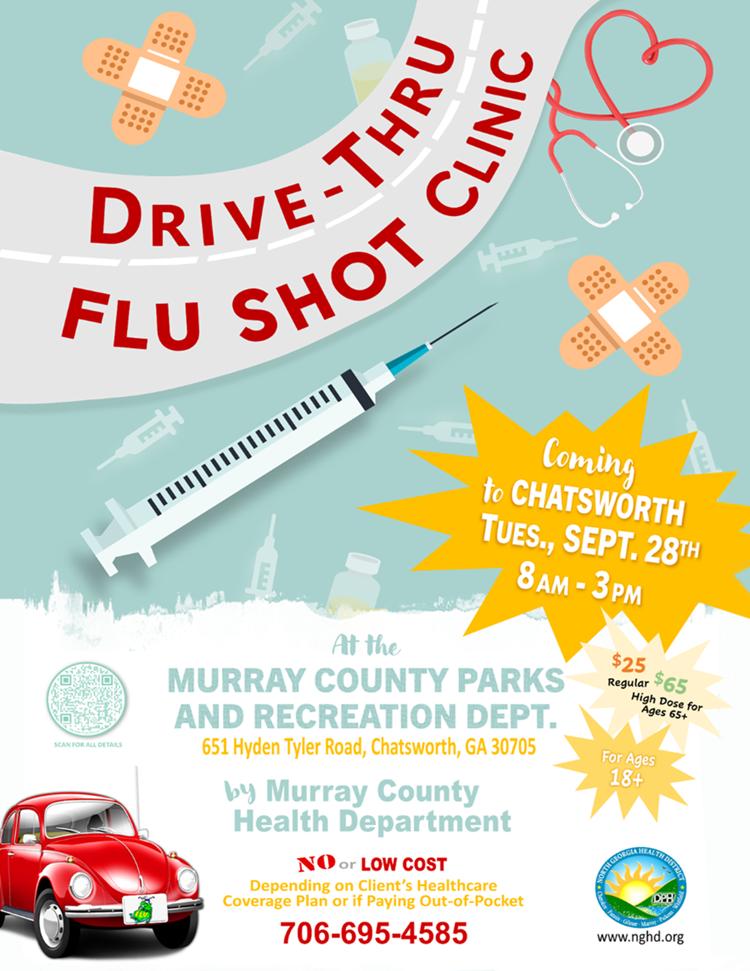 Web de la clínica Chatsworth Drive Thru Flu Shot