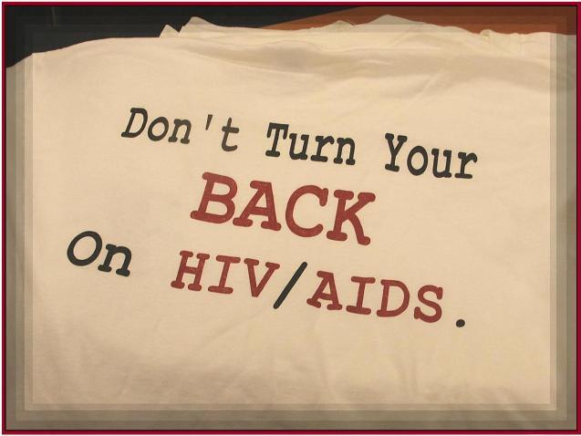Camiseta VIH