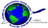 Logotipo de Intl Travel Clinic con etiqueta pequeña