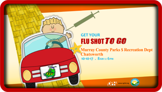Murrau Drive by Flu Shot Clinic Web Post 2017
