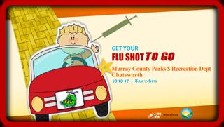 Murrau Drive por la vacuna contra la gripe Clínica Web Post 2017