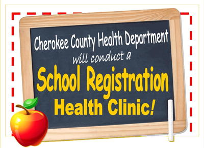 School Registration Event in Cherokee