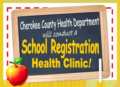 Evento de inscripción escolar en Cherokee