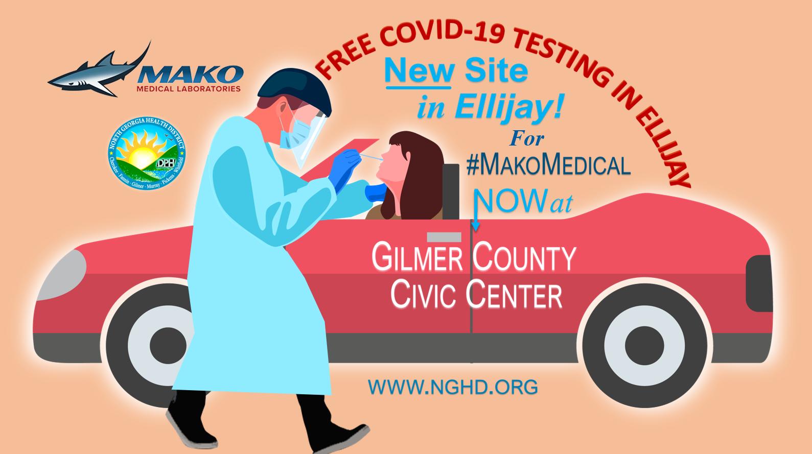 Cambio de sitio para MAKO Med en Ellijay Graphic