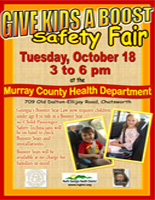 Booster Seat Safety Fair