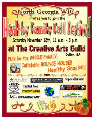 Festival de otoño para familias saludables