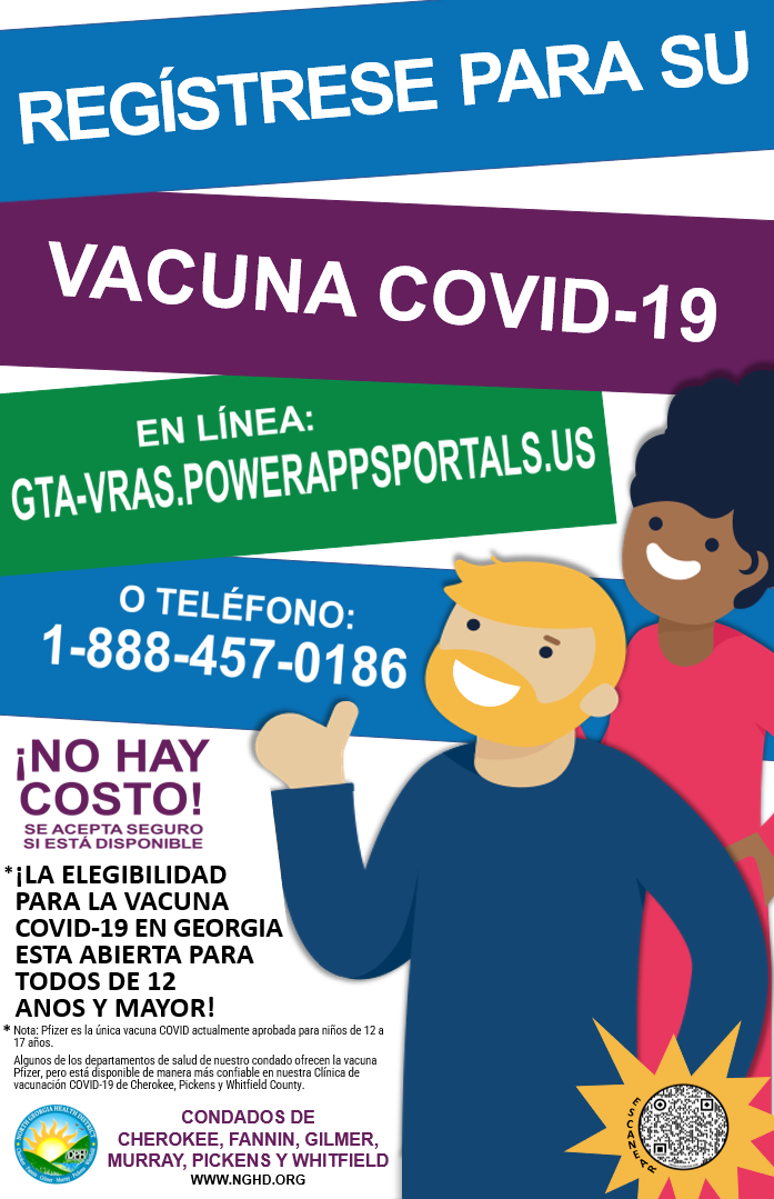 COVID 19 Vaccination Registration Poster graphic Sp12