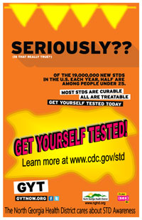 STD Awareness Poster