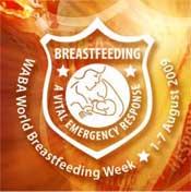 Logotipo de la Semana Mundial de la Lactancia Materna