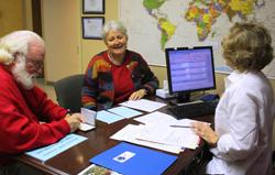 Senterfits preparándose para viajar en North GA International Travel Clinic