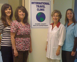 Travel Clinic staff